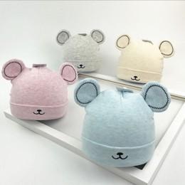 2019 gorąca sprzedaż czapka dla niemowląt małe dziewczynki chłopiec ciepła czapka Beanie na zimę kapelusz słodkie uszy pluszowa