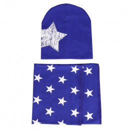 Czapka dla niemowląt szalik chłopcy dziewczęta niemowlę dzieci szalik czapki dziecięce czapki o-kołnierz szalik zimowa ciepła dz