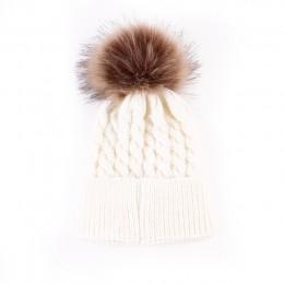 Noworodka zima dzieci dziecko ciepła czapka z dzianiny wełny dziewczyna chłopiec Hemming szydełka Ski 5 kolor