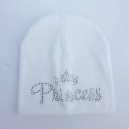 Dziecięca jesień księżniczka diamentowa dziewczynka kapelusz chłopięca czapka dziecięca bawełniana czapka czapka dziecięca czapk