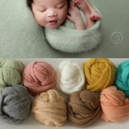 9 kolor noworodka fotografia rekwizyty dziecko okłady zdjęcie strzelanie akcesoria fotografia Studio koc tło moher elastyczna tk