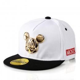 Golden Mickey Ear Boys Baby czapki czapki dla dziecka akcesoria dziewczęce 2018 Hot Baseball Hip-Hop czapki Cartoon sport czapka