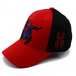 Nowa jesienna kapelusz niemowlęcy dla chłopca lub dziewczynki Spiderman haft kreskówka dla dzieci bawełna wiosna czapki baseball