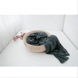 Super wygodne noworodka folia stretch przewijać dziecko fotografia koce noworodka strzelanie dziecko wypełniacz do koszy noworod