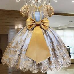 Girls Dress elegancki nowy rok księżniczka dzieci Party Dress suknia ślubna sukienki dla dzieci dla dziewczynek sukienka na przy