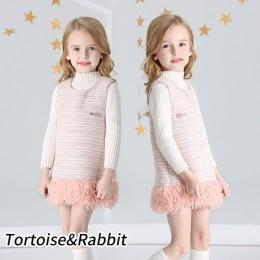 Moda dziewczynek klasyczna wiosenna sukienka Plaid bez rękawów dla dzieci kostium księżniczki na urodziny wydajność Party 12M-8Y