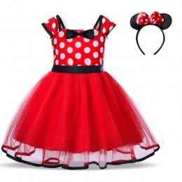 Czerwona sukienka świąteczna kostium dziewczęcy sukienki dziecięce dla dziewczynek Baby Santa Clus element ubioru dzieci Party ś