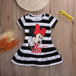Śliczne dzieci dzieci dziewczynek sukienki ubrania dziecko kreskówka letnia sukienka mini Kid Enfant odzież odzież