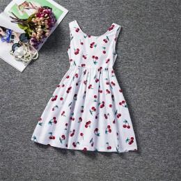 Letnie sukienki dla dziewczynki 2019 dziewczęce ubrania białe frezowanie Princess Party Dress elegancka ceremonia 4 5 6 lat nast