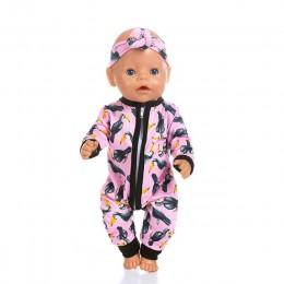 Nowe kombinezony nadające się do 43cm laleczka bobas 17 cal urodził się ubranka dla lalki