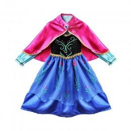 Księżniczka anna zaopatrzenie firm przebranie na karnawał dla dziewczynek karnawałowe ubrania dla dzieci element ubioru Hallowee