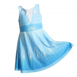Dziewczynek sukienka Elsa 2 sukienka na przyjęcie bożonarodzeniowe dla dziewczynki dzieci świąteczny prezent kostium dla dzieci