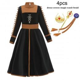 Anna 2 Elsa sukienka jednorożec dzieci sukienki dla dziewczynek kopciuszek karnawałowy kostium dzieci królowa śniegu urodziny su