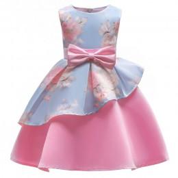 Nowa sukienka świąteczna dla dziewczynek kostium dla dzieci sukienki dla dziewczynek księżniczka sukienka dla dzieci suknia wiec