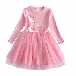 Dzieci jesień zimowe sukienki dla dziewczynek cekiny z gwiazdek księżniczka sukienka dziewczyny z długim rękawem Party Vestidos