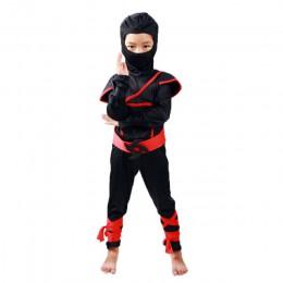 Ninjago stroje imprezowe chłopcy ubrania Superhero Cosplay Ninja kostium kostium halloweenowy dla dziewczynki Party element ubio