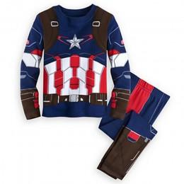 2019 wiosna piżamy dziecięce ubrania dla chłopców Hulk superhero Batman Iron Man kostium Spiderman odzież do spania dla dzieci z