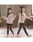 Dziewczyny ubrania 2019 odzież dla dziewczynek 12 lat ubrania dla dzieci dziewczyny od 8 do 12 lat nastoletnie ubrania koszulka