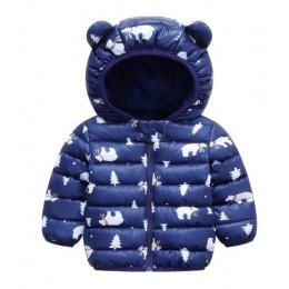 Śliczne 1-5y dziewczynek kurtka dla dzieci chłopcy modne płaszcze z bluza z kapturem z uszami na jesień, dla dziewczyny ubrania