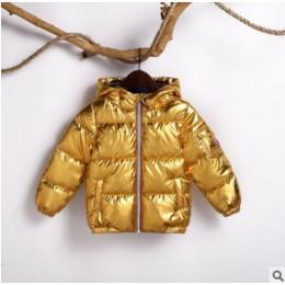 HH chłopcy płaszcze kurtka zimowa dla dzieci puchowy płaszcz bawełniany wodoodporny kombinezon różowy złoty srebrny kurtka kurtk