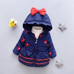 LZH dziewczynek kurtka 2019 jesień kurtka zimowa dla dziewczynek płaszcz dzieci ciepła kurtka z kapturem płaszcz dla dziewczynek