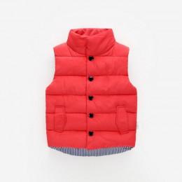 Jesień zima dziewczyny kamizelka okazjonalna kurtka dziecięca odzież wierzchnia płaszcze dla dziewczynek kamizelka niemowlę dzie