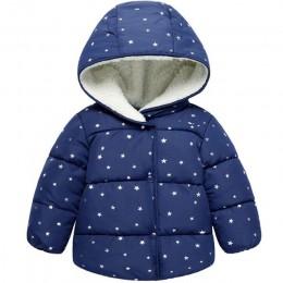 Dziecko jesień i zima nowa ciepła odzież dziecięca kurtka pogrubienie plus aksamitna wyściełana kurtka chłopiec kurtka z kapture