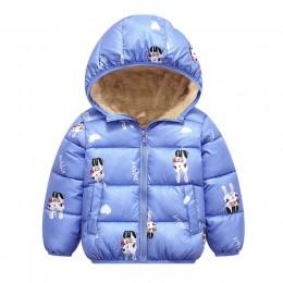 Zimowa dziecięca odzież wierzchnia chłopcy dziewczęta puchowa kurtka noworoczne kostiumy dla chłopców ciepła kamizelka dla dziec