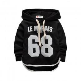 Dobra jakość dziewczynek/chłopców odzież 68 sweter z polaru dzieci bluzy kurtka niemowlę dorywczo bawełny płaszcz dzieci z długi