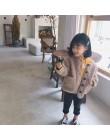 2018 jesienno-zimowa New Arrival koreańskiej wersji pure color wełniana ciepła moda gruby płaszcz dla słodkie słodkie małe dziew