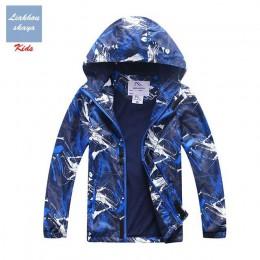 Liakhouskaya 2019 nowa wiosna kurtka dla dzieci dla chłopca dzieci ciepłe nastoletnie płaszcz dzieci polarowe wiatrówki wodoodpo
