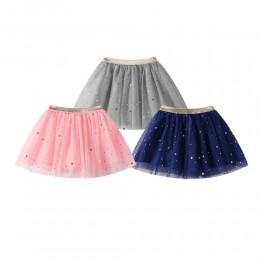 Moda dla dzieci dzieci spódnica dziewczyny księżniczka gwiazdy brokat spódniczka tutu do tańca cekiny Party taniec baletowa spód