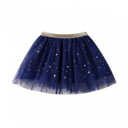Dzieci gwiazda dziecka brokat spódniczka tutu do tańca dla dziewczyny cekiny 3 warstwy Tulle maluch Pettiskirt dzieci spódnica s