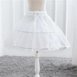 Biała spódnica z tiulu dziewczynek spódnice z Tutu halki dla dzieci spódnica dla dzieci akcesoria ślubne dla dzieci dziewczyna h