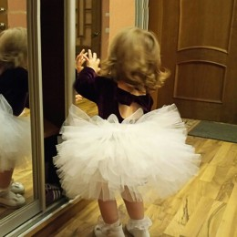 Moda dziewczyny Tutu super puszysty 6 warstwa halka księżniczka balet spódniczka Tutu do tańca dzieci ciasto spódnica Chritsmas