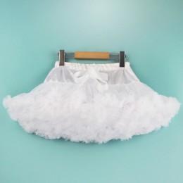 1-10Y Girls Tutu spódnica baleriny Pettiskirt warstwa puszyste dzieci spódnice baletowe na imprezę taniec księżniczka dziewczyna