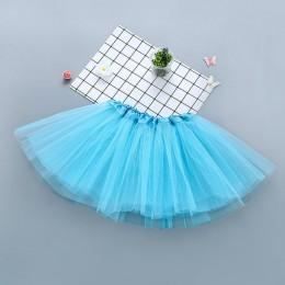 Nowa marka dziewczynka ubrania różowa spódniczka tutu dzieci księżniczka dziewczyny spódnica suknia Pettiskirts urodziny spódnic