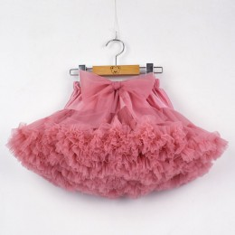 Dziewczęca spódniczka tutu tiulowa dla dziewczynek elegancka ozdobna delikatna wygodna przewiewna