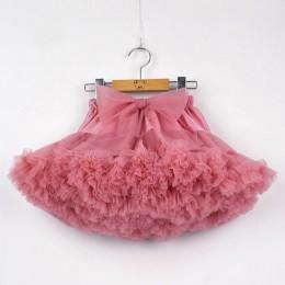 Dziewczynek spódnica Tutu puszyste dzieci balet dzieci Pettiskirt dziewczynka spódnice duża kokarda Tulle Party spódnice do tańc
