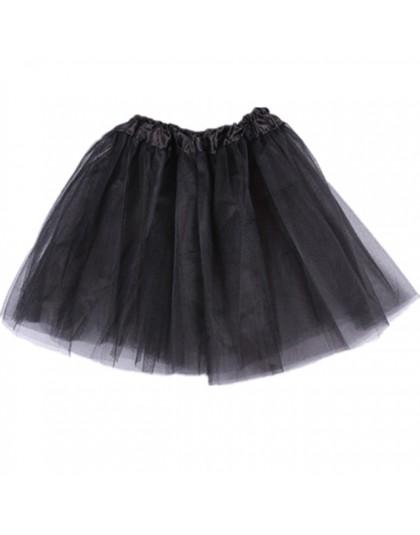 Szyfonowa klasyczna tiulowa spódniczka tutu dla dzieci dziewczynek dla baletnicy na gumie krótka rozkloszowana