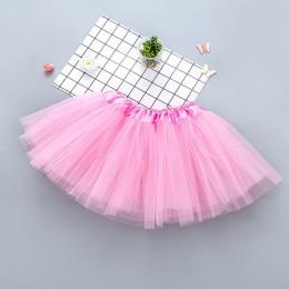 Dziewczynek ubrania dla dzieci spódnica Tutu puszysta warstwowa spódnica dzieci taniec baletowy spódnice księżniczka Party halki