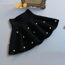 TONGMAO nowa, jesienna i zimowa odzież dziecięca dziewczęca moda na co dzień dzianinowa spódnica najniższa perła księżniczkowe s