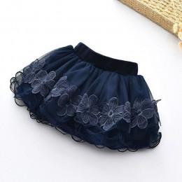 Wiosenna jesienno-letnia odzież dziecięca śliczna dziecięca dziecięca kwiecista Tutu bawełniane spódnice koronkowa bawełniana kw