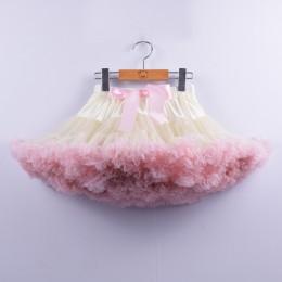 Moda dziewczyny Tutu spódnica kolorowe ubrania dla dzieci księżniczka Party puszyste dziecko Pettiskirt balet kostium taneczny d