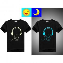 DMDM PIG Luminous koszulki z krótkim rękawem dla chłopców dziewcząt Superman Batman T Shirt dzieci boże narodzenie dziewczynka t