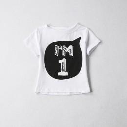 1 2 3 4 5 lat urodziny boże narodzenie chłopięca koszulka bawełniana koszulka dziecięca odzież dziecięca koszulka dziecięca kost