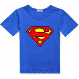 Nowa koszulka chłopięca Spiderman bawełniana koszulka z krótkim rękawem drukowanie dziecięca kreskówka szara dziecięca chłopięca