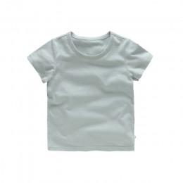 VIDMID Kids T-shirt topy bawełna dla chłopca z krótkim rękawem topy dziewczyny dzieci Cartoon podstawowe kolorowe ubrania chłopc