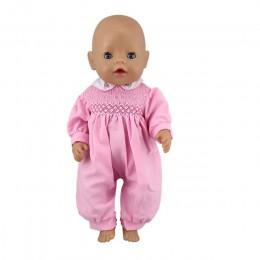 Kombinezon dla lalek pasuje do 43cm laleczka bobas Doll Reborn Baby Clothes