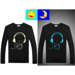 Luminous z długim rękawem T-Shirt dla chłopców T Shirt Batman boże narodzenie nastoletnia dziewczyna topy rozmiar 2 3 4 5 6 7 la